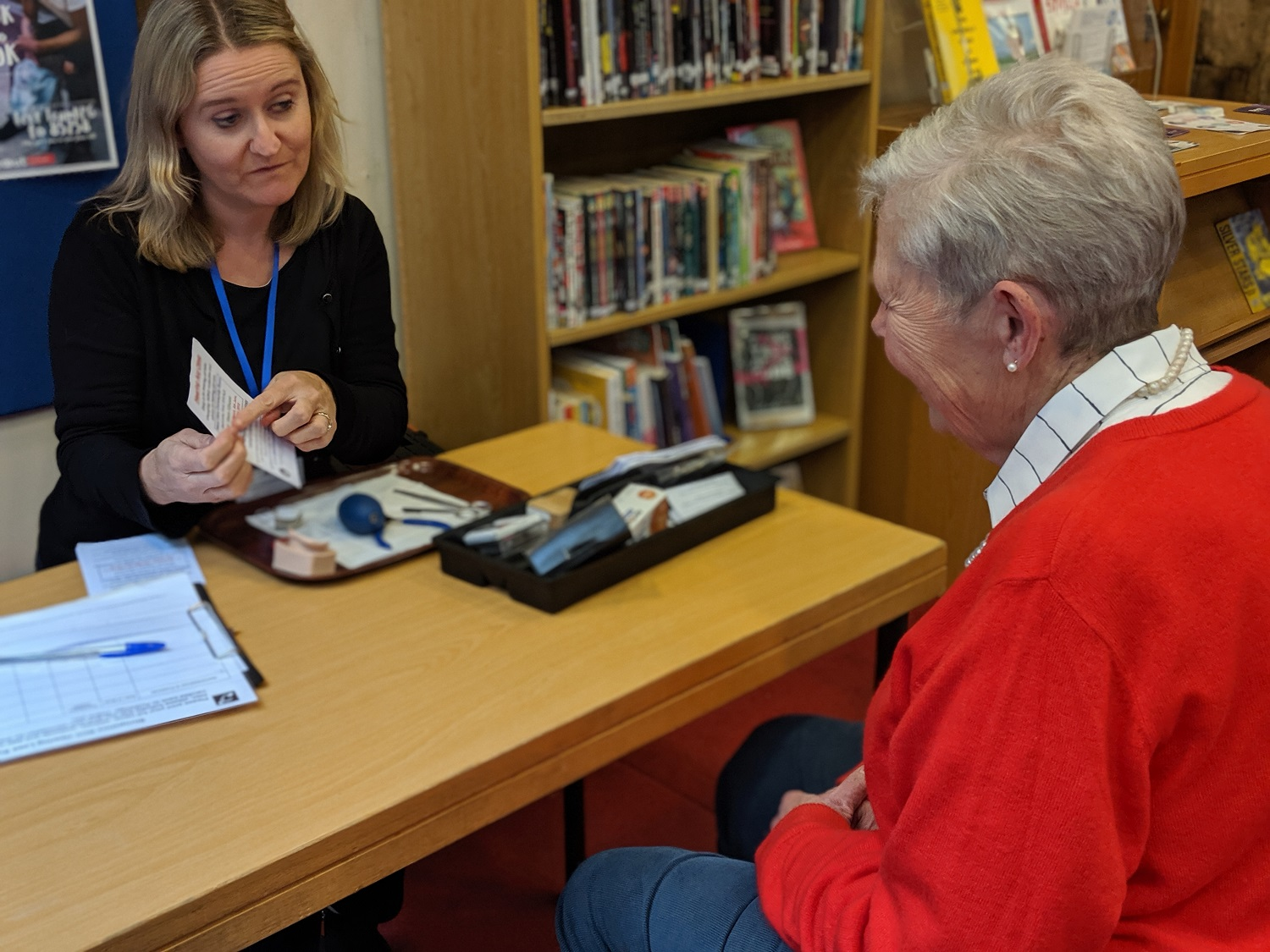 Shropshire RCC hearing loss support volunteer clinic